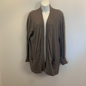 Sonoma Women's Size XL  Brown Dress Cardigan